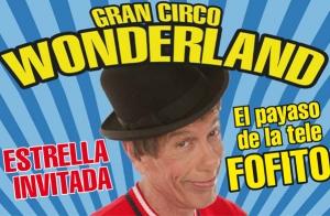 Cartagena: Circo Wonderland 23 oct-2 nov