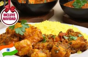 Exquisito menú hindú