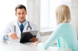 Completa revisión ginecológica