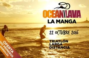 Triatlón Iron: Ocean Lava La Manga 2016