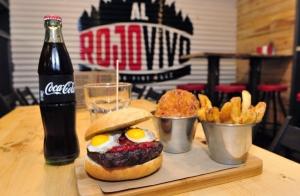 Al Rojo Vivo: menú premium burger